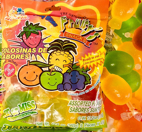 Jelly Fruits Tik Tok Challenge - Pack of 9 - 360g