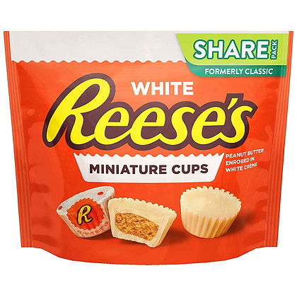White Reese's Miniature Cups (Share Pack) 297g