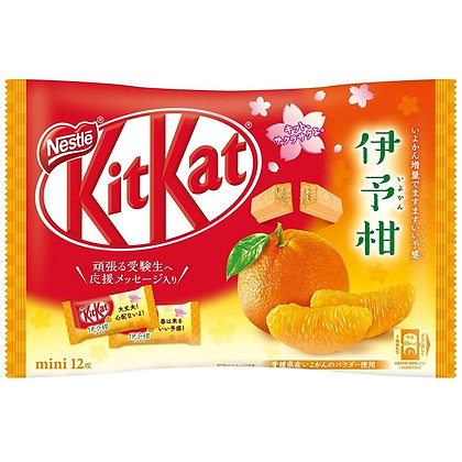 Nestle Japan KitKat Mini Iyokan Citrus Share Pack 162g