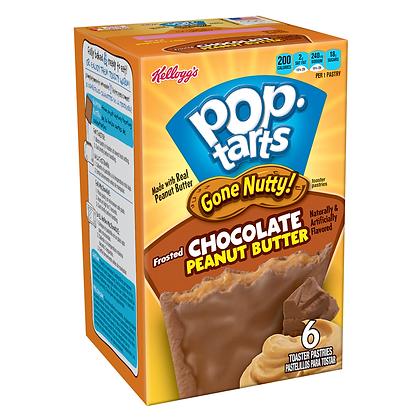 Pop Tarts Gone Nutty Chocolate Peanut Butter 300g