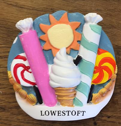 Lowestoft Fridge Magnet