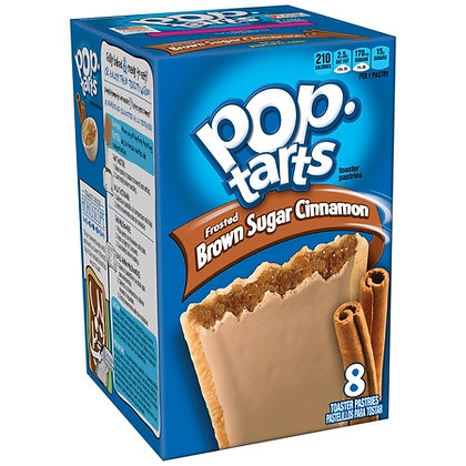 Pop Tarts box - Brown sugar cinnamon