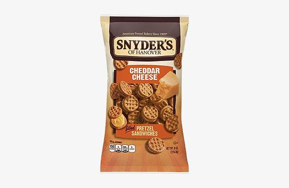 Snyder's Cheddar Cheese Pretzel Sandwiches 60.2g