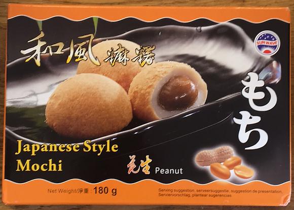 Japanese Style Mochi Peanut Japanese Style 180g (Taiwan)