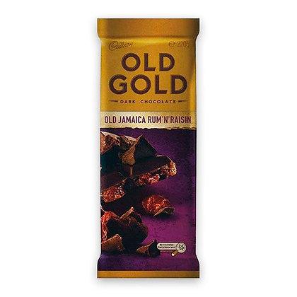 Cadbury Old Gold Old Jamaica Rum n Raisin 180g