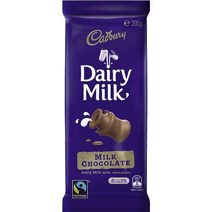Cadbury Dairy Milk - Milk Chocolate 200g