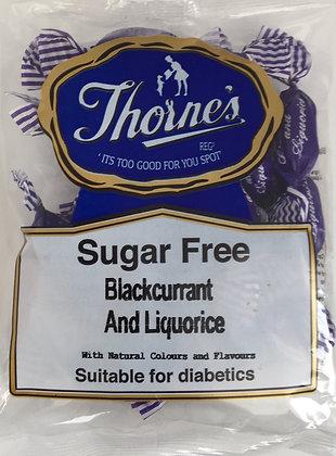 Thorne's Sugar Free - Blackcurrant and Liquorice 100g