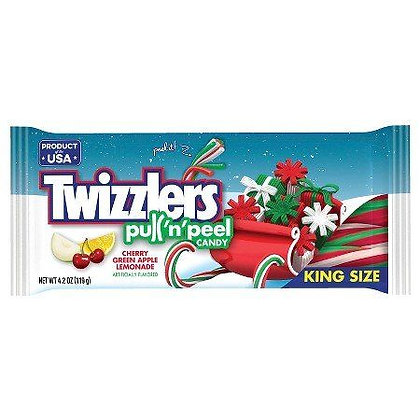 Twizzlers Pull 'n' Peel Candy Christmas Edition 119g