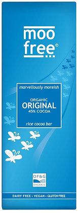 Moo Free Organic Original Chocolate Rice Milk Bar 80g (Vegan Friendly)