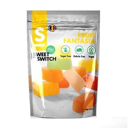 Sweet Switch Fruit Fantasia (Vegan & Sugar Free) 100g