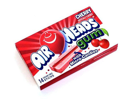 Air Heads Gum Cherry