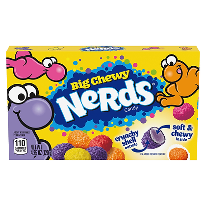 Big Chewy Nerds Candy 120g
