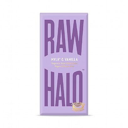 Raw Halo Mylk & Vanilla Chocolate (Vegan) 70g