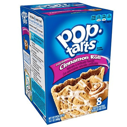 Pop Tarts box - Cinnamon roll
