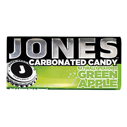 Jones Carbonated Candy Green Apple 25g