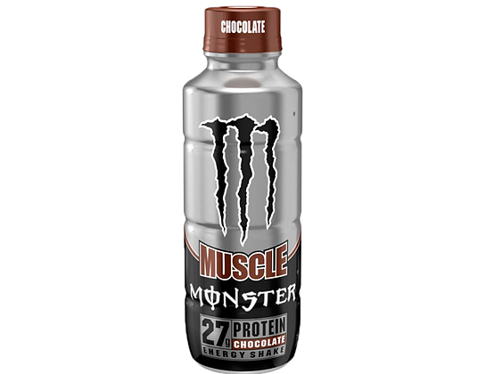 Monster Muscle Chocolate Protein Shake 444ml