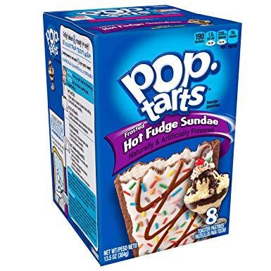 Pop Tarts box - Hot fudge sundae