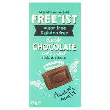 Freest Dark Chocolate with Mint (Sugar Free & Gluten Free) 75g