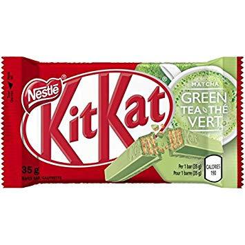 Kit Kat Green Tea (Canada) 35g