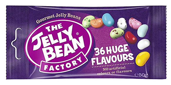 The Jelly Bean Factory 36 Huge Flavours 50g