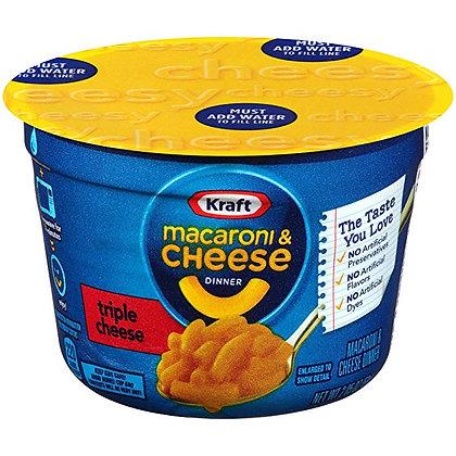 Kraft Macaroni & Cheese Triple Cheese 58g