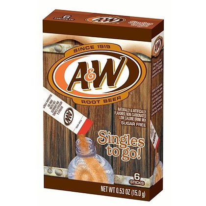 A&W Root Beer - Singles To Go 15g