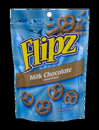 Flipz - Milk Chocolate Covered Pretzels 141g