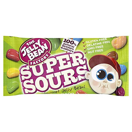 The Jelly Bean Factory Super Sours 50g