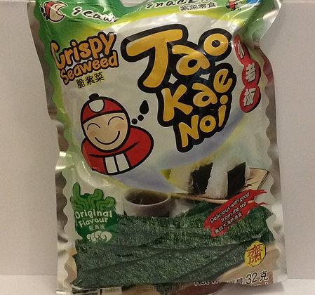 Taokaenoi Crispy Seaweed Original Flavour 32g