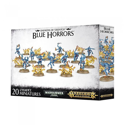 Warhammer 40K / Age of Sigmar Daemons of Tzeentch Blue Horrors