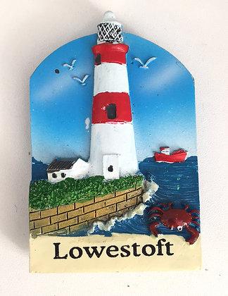 Lowestoft Lighthouse Fridge Magnet