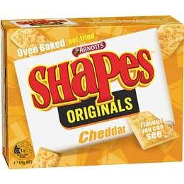 Shapes Originals Cheddar 175g