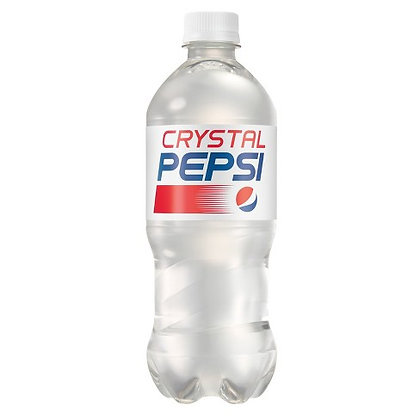 Crystal Pepsi 591ml - COLLECTOR'S ITEM - Dated 5th November 2018