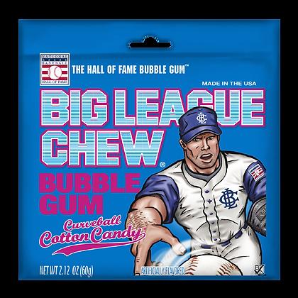 Big League Chew Bubble Gum Curveball Cotton Candy 60g