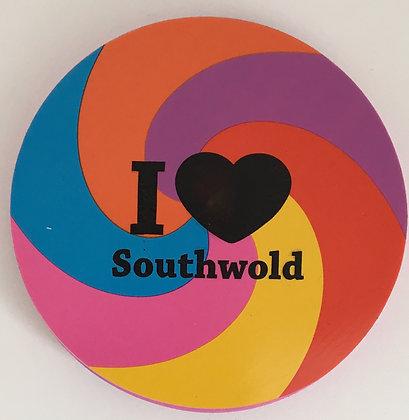 """""""I Love Southwold"""" Pencil Eraser"""