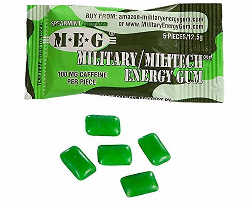 M.E.G Military Energy Gum Spearmint 12.5g