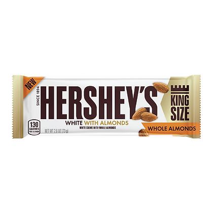 Hershey's White with Whole Almonds 73g