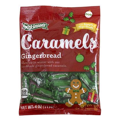 Atkinson's Caramels - Gingerbread 113g