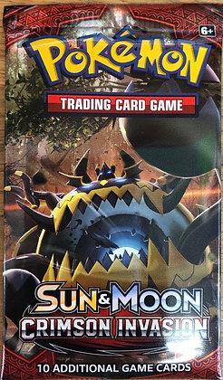 Trading Cards Sun & Moon Crimson Invasion