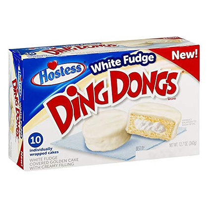 White Fudge Ding Dongs 360g