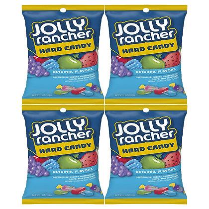 FOUR Packs of Jolly Rancher Original Candy 198g
