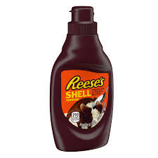 Reese's Chocolate & Peanut Butter Shell Topping 205g