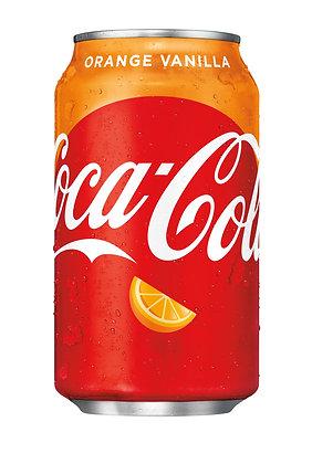 Coca Cola Orange Vanilla