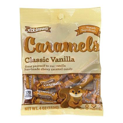 Atkinson's Caramels - Classic Vanilla 113g