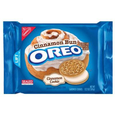 Oreo Cinnamon Bun Flavour 345g