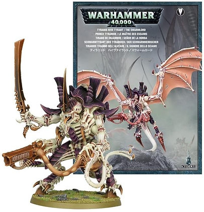 Warhammer 40K Tyranid Hive Tyrant / The Swarmlord