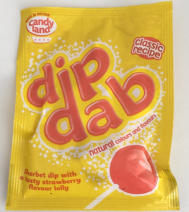 Dib Dab Sherbet Dip Strawberry 23g