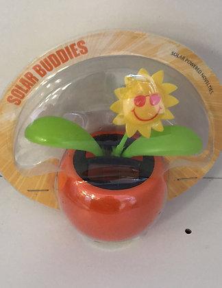 Sun Flower Solar Figure Orange