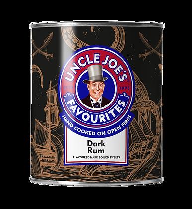 Uncle Joe's Favourites - Dark Rum Hard Boiled Sweets 120g