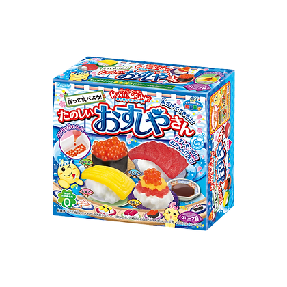 Kracie DIY Poppin'Cookin' Sushi-Shaped Gummy Candy 28.5g